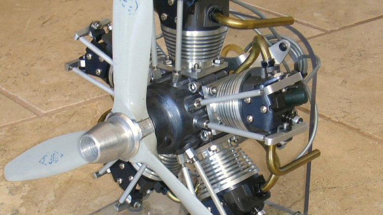 Seidel Triebwerke ST-540 prototype