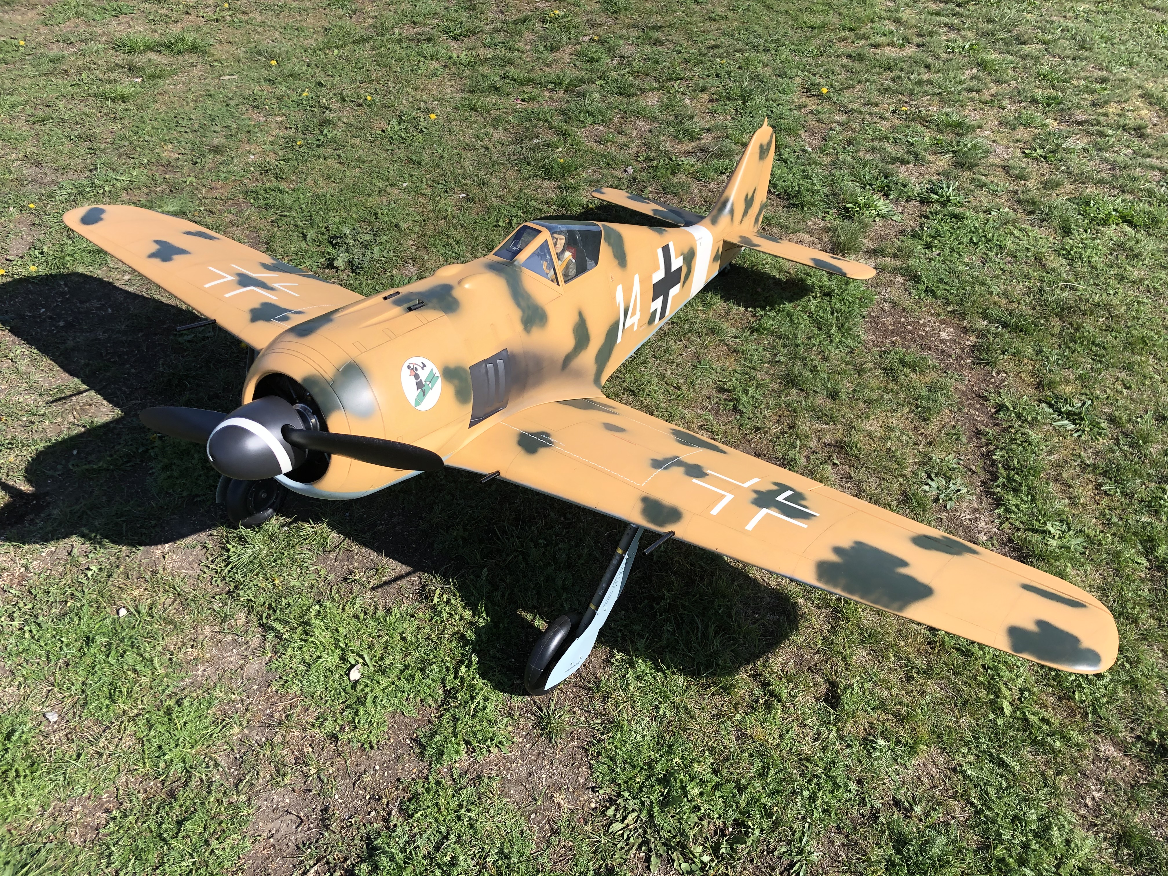 TopFlite FW190 - 2.16m - ST-100b